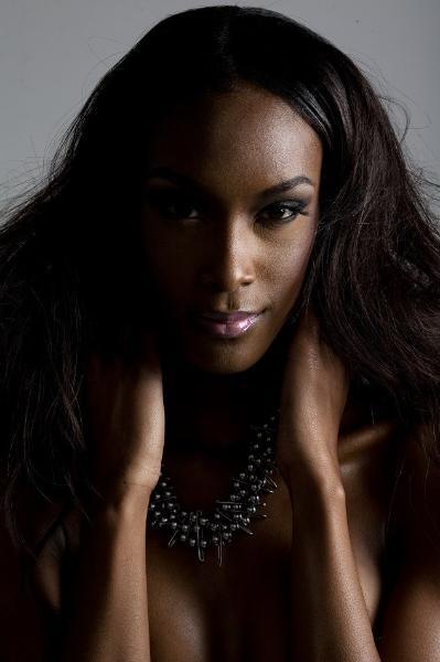 Photos from her portfolio with Elite.