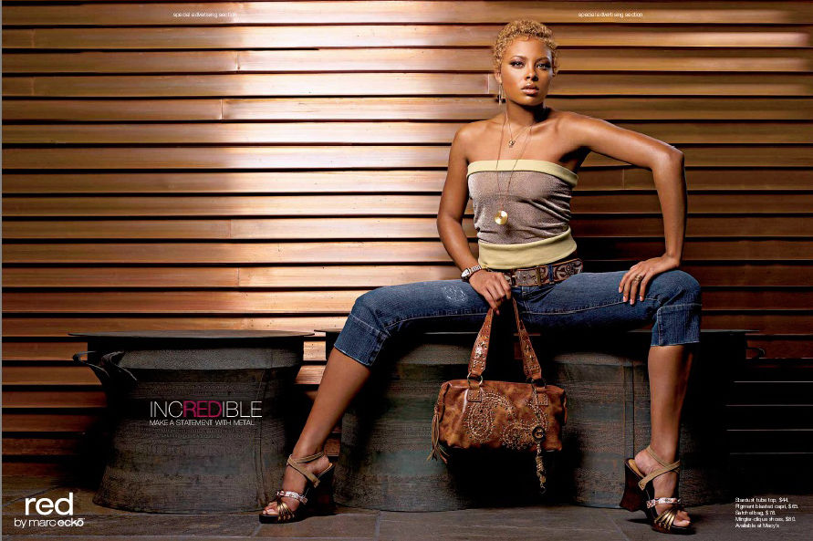Eva Pigford Marcille for Red by Marc Ecko | Where are the