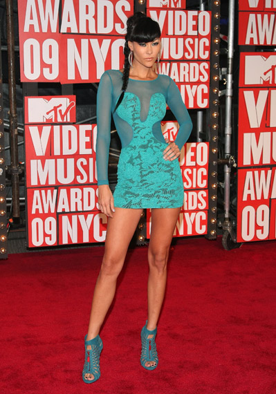 ANTM CYCLE 6 Jade Cole at 2009 MTV VMAs | Where are the models of ...