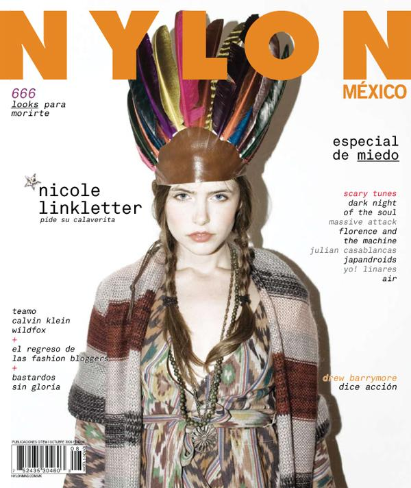 Nicole Linkletter Nylon Mexico October 22