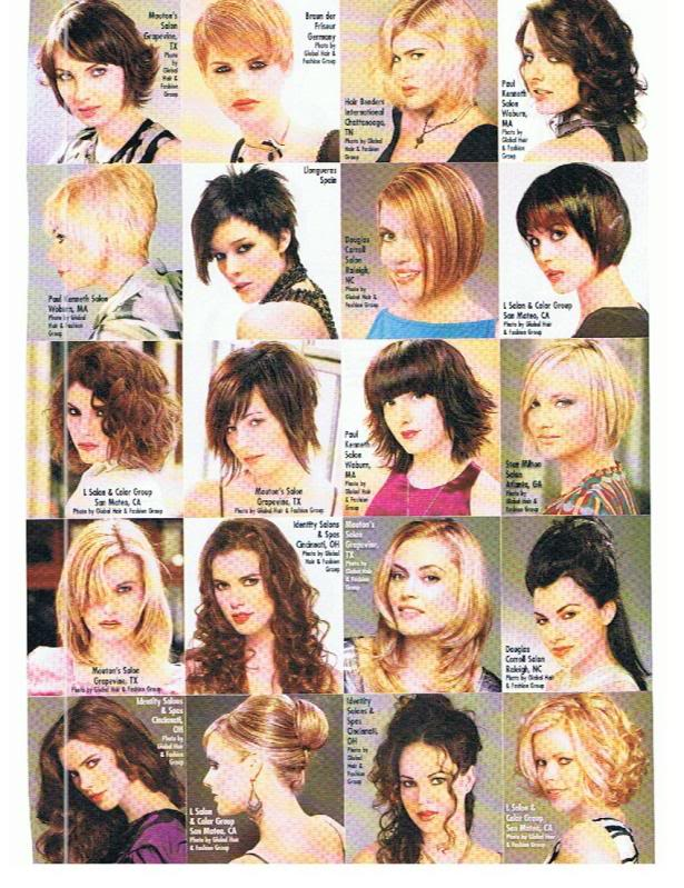 Sara Racey-Trabizi for Sophisticate\'s Hairstyle Guide (Sept 09 ...