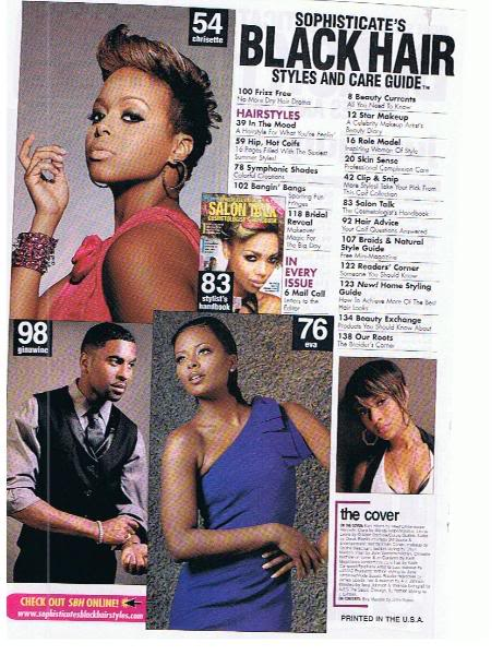 Eva Pigford Marcille for Sophisticate\'s Black Hairstyles and Care ...