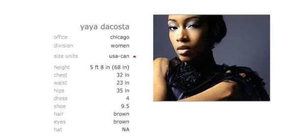 Ford Models Chicago >> Yaya Dacosta Johnson Portfolio For Ford Models Chicago
