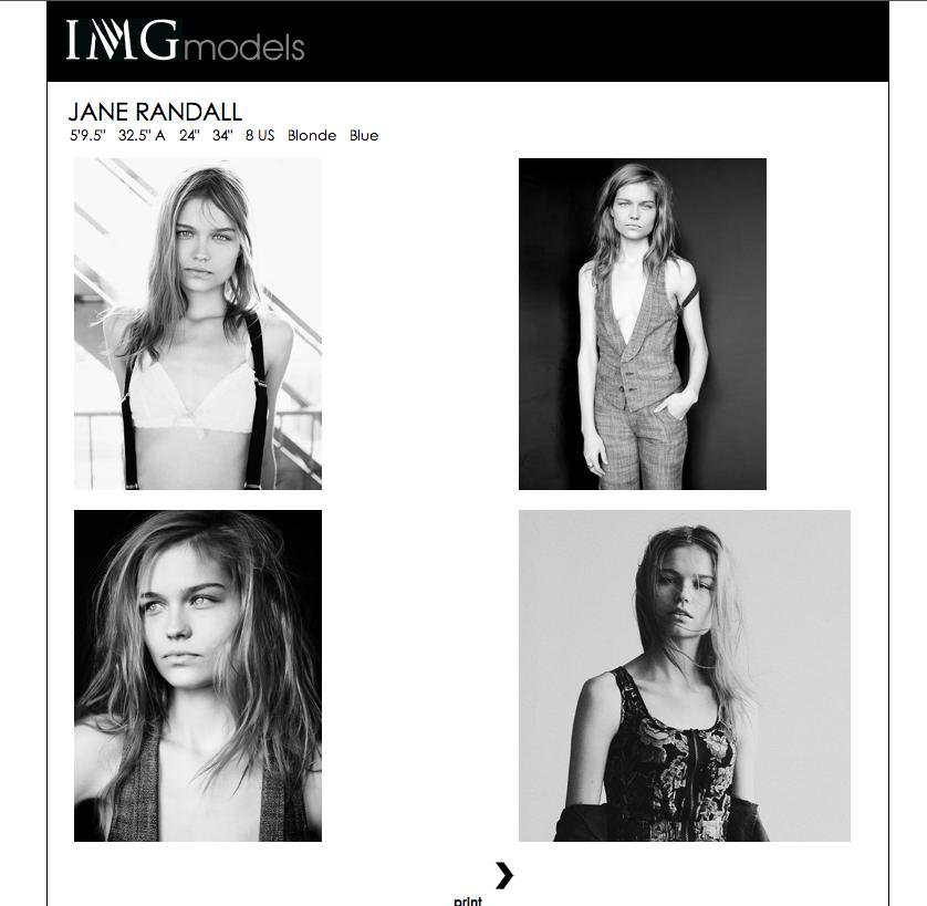 IMG Models Men S/S 14 Polaroids/Portraits (Polaroids/Digitals)