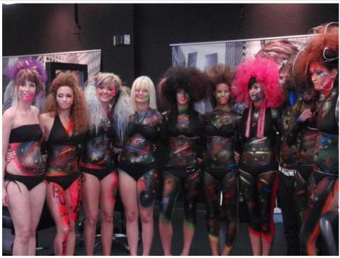 Iowa Hair Show amanda babin